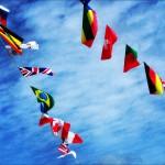 君は展示場にある万国旗の本当の意味を知っているか?