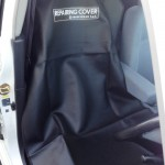 整備オイルが付いても安心のPVC座席シートカバー!