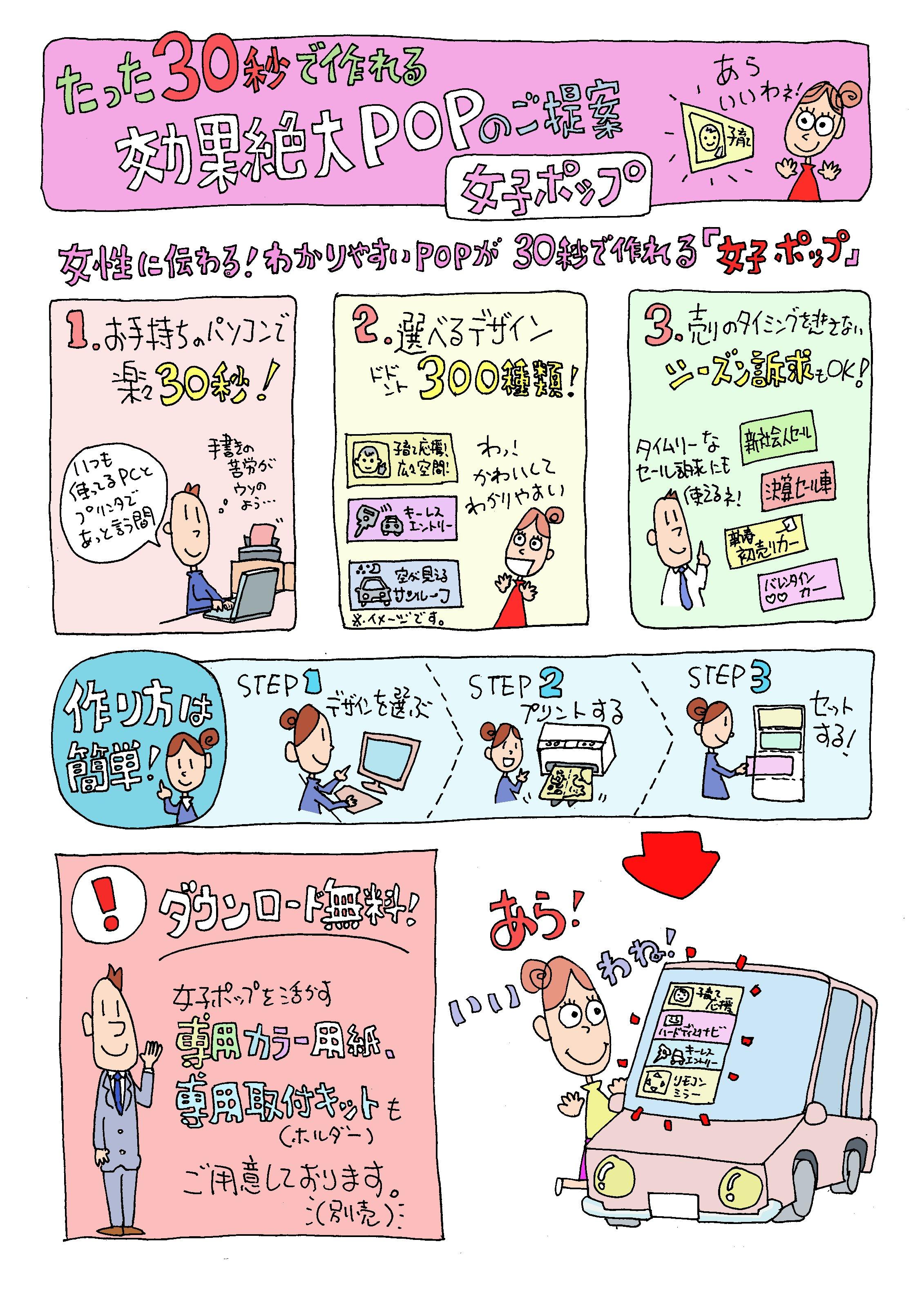 修正JP 100 (女子POP)