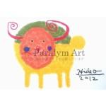 杉本英生さんの絵がエアプラに採用されました